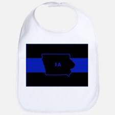 Thin Blue Line - Iowa Bib