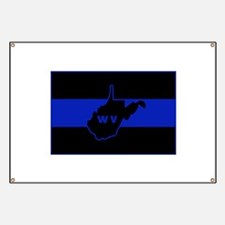 Thin Blue Line - West Virginia Banner