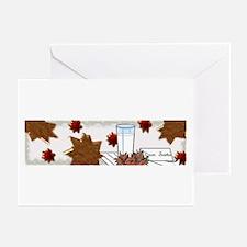 """""""Santa's Cookies"""" Greeting Cards (Pk of 10)"""