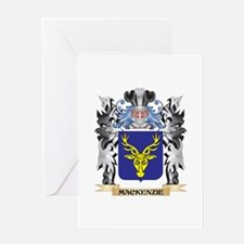 Mackenzie Coat of Arms - Family Cre Greeting Cards