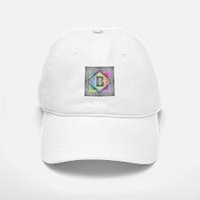 Rainbow Splash B Baseball Baseball Cap