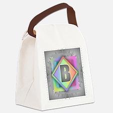 Rainbow Splash B Canvas Lunch Bag