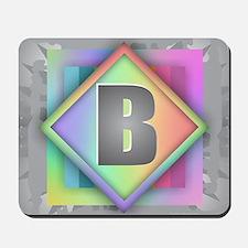 Rainbow Splash B Mousepad