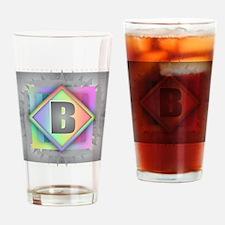 Rainbow Splash B Drinking Glass