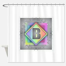 Rainbow Splash B Shower Curtain