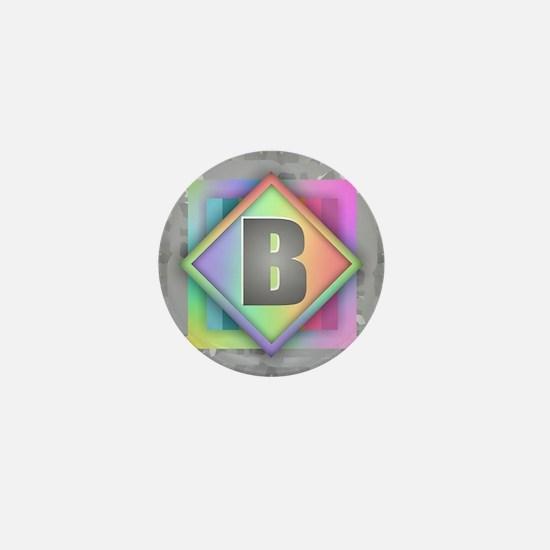 Rainbow Splash B Mini Button