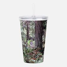 Redwoods Rainforest Acrylic Double-wall Tumbler