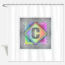 Rainbow Splash C Shower Curtain