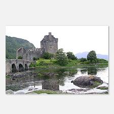 SCOTLAND EILEAN DONAN Postcards (Package of 8)