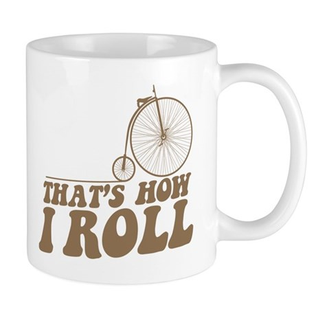 How I Roll PF Mug