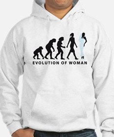 evolution of woman bride wedding Hoodie