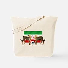 Iran Cheetahs Tote Bag