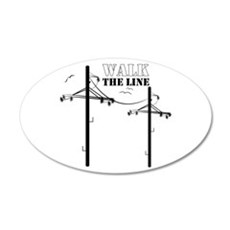 Walk The Line Wall Decal
