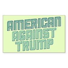 American Against Trump Decal