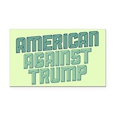 American Against Trump Rectangle Car Magnet