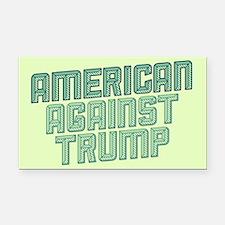 American Against Trump Rectangle Car Magnet