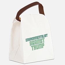 Environmentalist Against Trump Canvas Lunch Bag