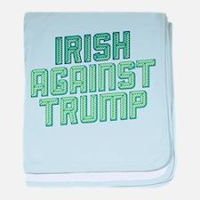Irish Against Trump baby blanket
