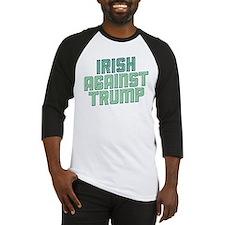 Irish Against Trump Baseball Jersey