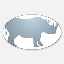 Rhinoceros Rhino Decal