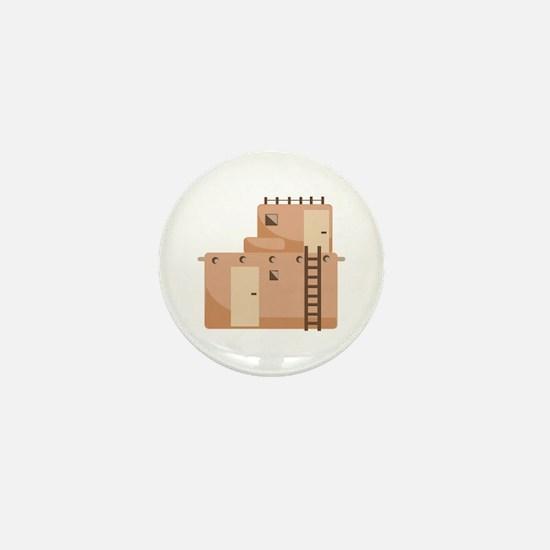 Southwest House Mini Button
