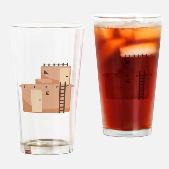 Southwest House Drinking Glass