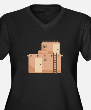 Southwest House Plus Size T-Shirt