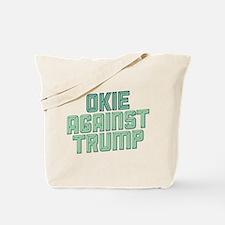 Okie Against Trump Tote Bag