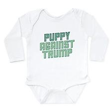 Puppy Against Trump Body Suit