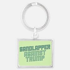 Sandlapper Against Trump Keychains