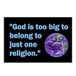 Big God I Postcards (Package of 8)