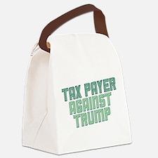Tax Payer Against Trump Canvas Lunch Bag