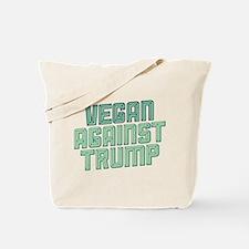 Vegan Against Trump Tote Bag