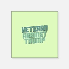 Veteran Against Trump Sticker
