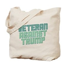 Veteran Against Trump Tote Bag