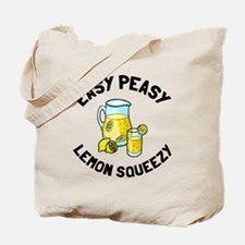 Easy Peesy Lemon Squeezy Tote Bag
