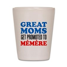 Promoted To Memere Drinkware Shot Glass