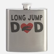 Long Jump Dad Flask