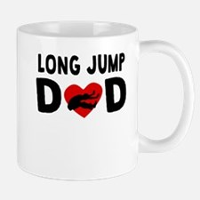 Long Jump Dad Mugs