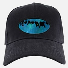 Clothesline silhouette Baseball Hat