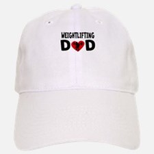 Weightlifting Dad Baseball Baseball Baseball Cap