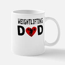 Weightlifting Dad Mugs