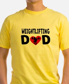 Weightlifting Dad T-Shirt