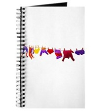 Kids clothes drying Journal