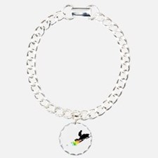 rainbow powder trail snowmobile Bracelet