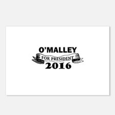 O'MALLEY FOR PRESIDENT 20 Postcards (Package of 8)