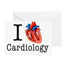 I love Cardiology Greeting Card