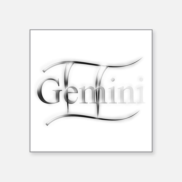 Gemini Astrology Graphic by Virginias Touc Sticker