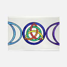 Balanced Indigo Moon Magnets