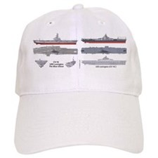 Uss Lexington Cv-16 Cva-16 Cvs-16 Baseball Baseball Cap
